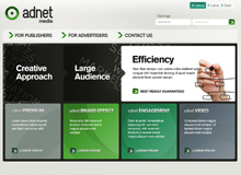 Adnet Media // Design concept