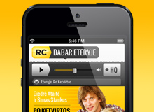 Radiocentras application